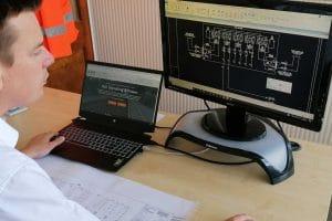 Rail Signalling Design 2D Microstation